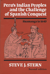 Book Cover: Peru's Indian Peoples and the Challenge of Spanish Conquest