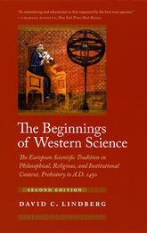 Book cover: Beginnings of Western Science