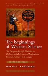 Book cover: Beginnings of Western Science