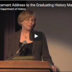 Commencement Address Video Image