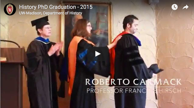History PhD Graduation Video Image