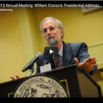 William Cronon Video Image