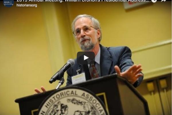 William Cronon Video Image