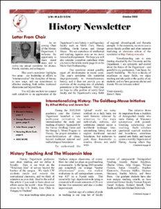 History NEwsletter 2003