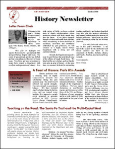 History Newsletter 2005