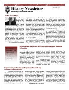 History Newsletter 2006