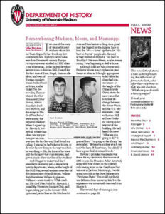 History Newsletter 2007