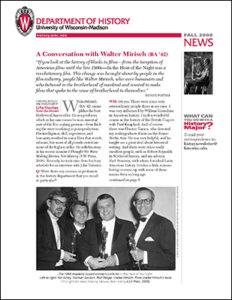 History Newsletter 2008