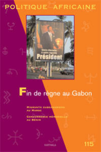 Politique Africaine Bookcover