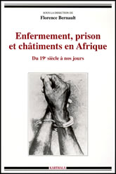 Bookcover - Enfermement, Prison et Chatiments