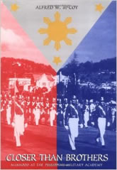 Bookcover - Closer Than Brothers: Manhood at the Philippine Military Academy