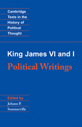 Bookcover - King James VI and I: Political Writings