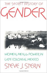 Bookcover - The Secret History of Gender: Women, Men, and Power in Late Colonial Mexico