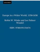 Bookcover - A History of Civilization, Vol. III: Europe in a Wider World: 1350-1650