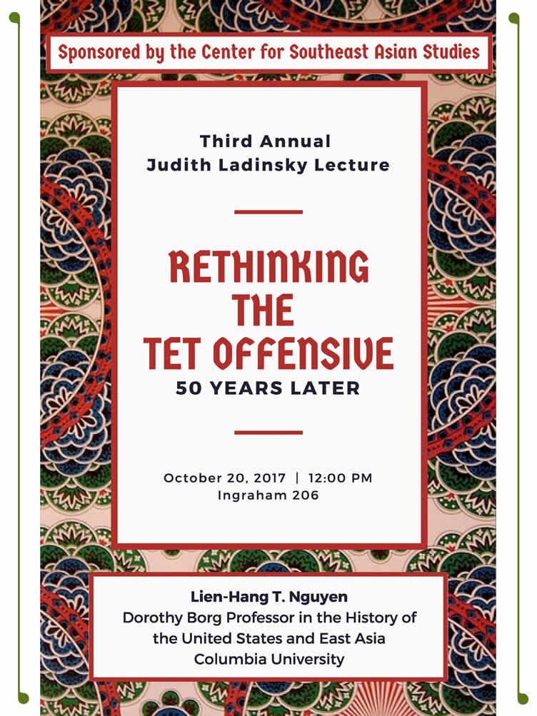 Poster: 3rd Annual Judith Jadinsky Lecture