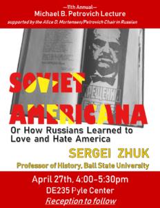 Petrovich Lecture