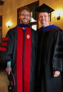 Philip Janzen with Prof. James Sweet