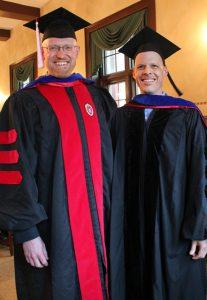 Lane Sunwall with Prof. Daniel Ussishkin