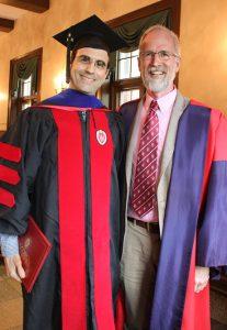 John Suval with Prof. William Cronon