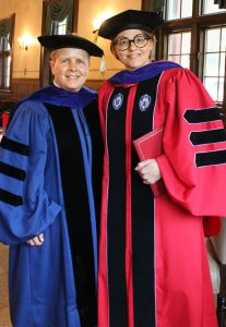 Libby Tronnes with Prof. Susan Johnson
