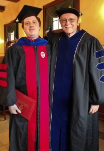 Ryan Wolfson-Ford with Prof. Alfred McCoy
