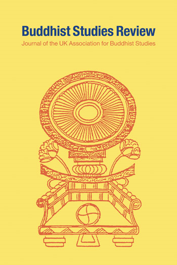Buddist Studies Review cover