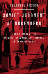 Book Cover: Soviet Judgement at Nuremberg