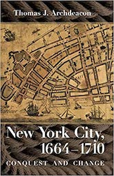 Book Cover - Archdeacon - New York City