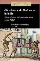 Book Cover: Christians and Missionaries in India
