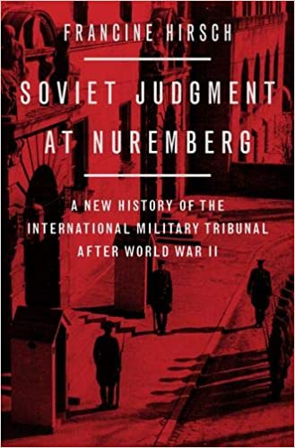 Book Cover: Soviet Judgment at Nuremberg