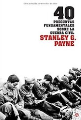 Book Cover: 40 preguntas fundamentales sobre la Guerra Civil