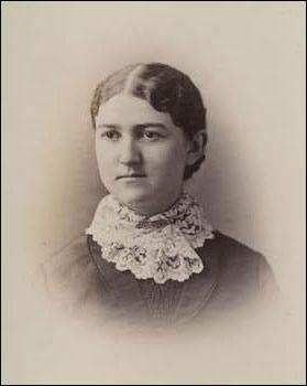 Kate Everest in the 1882 UW class album