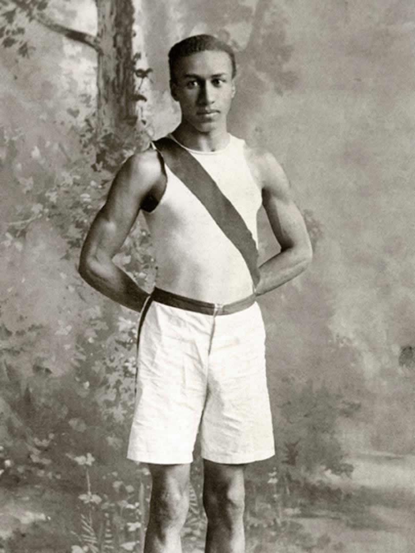 George Coleman Poage, History BA, 1903