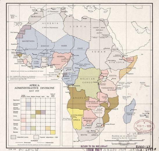 Library of Congress. Image of Africa