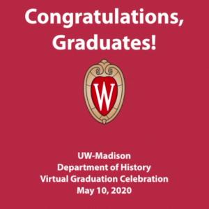 Congratulations History Graduates