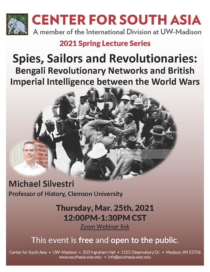 Event Poster: Michael Silvestri