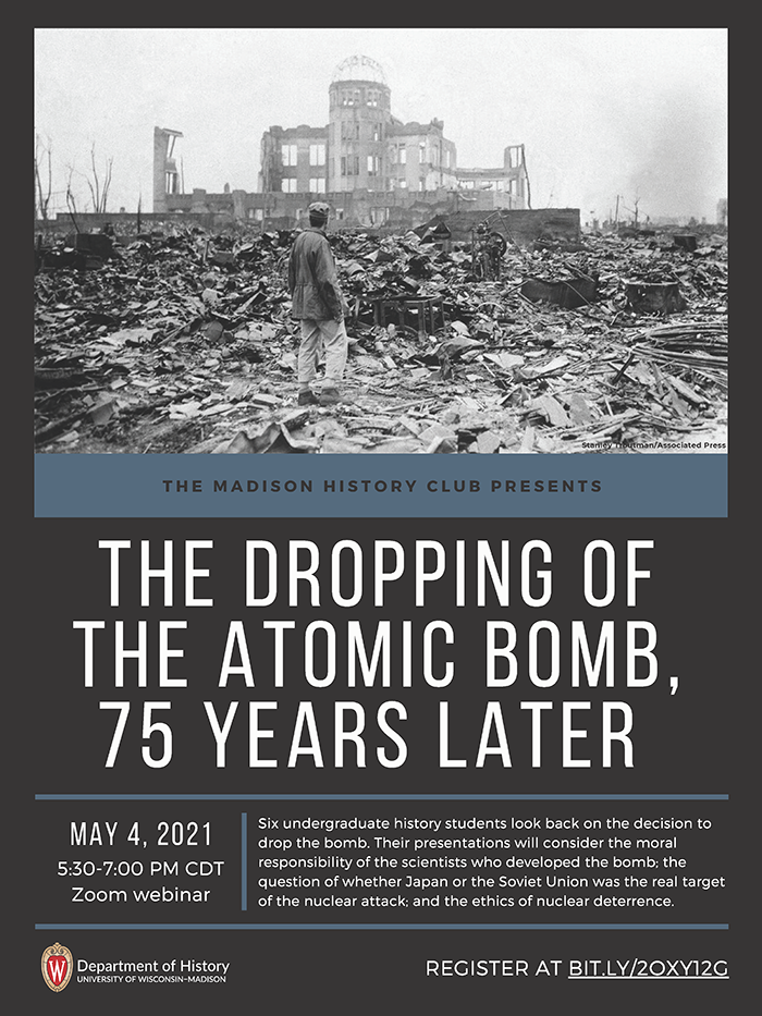 Event Poster: Dropping of the Bomb