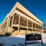 Front view - Mosse Humanities Bldg - Photo by Bryce Richter / UW-Madison