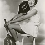 Sixty-five years ago Althea Gibson (above: in 1959) broke the color line at the French Open. (NMAAHC)