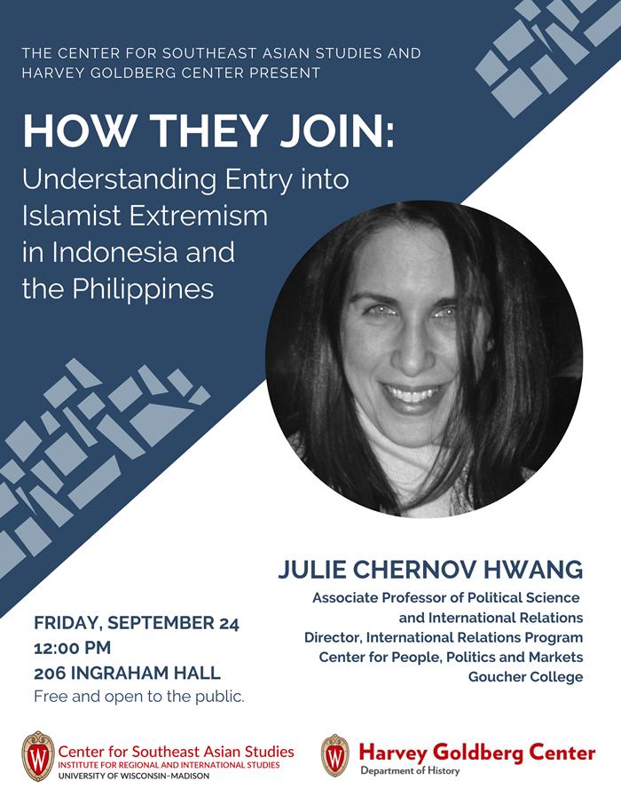 Event Poster: Julie Chernov Hwang