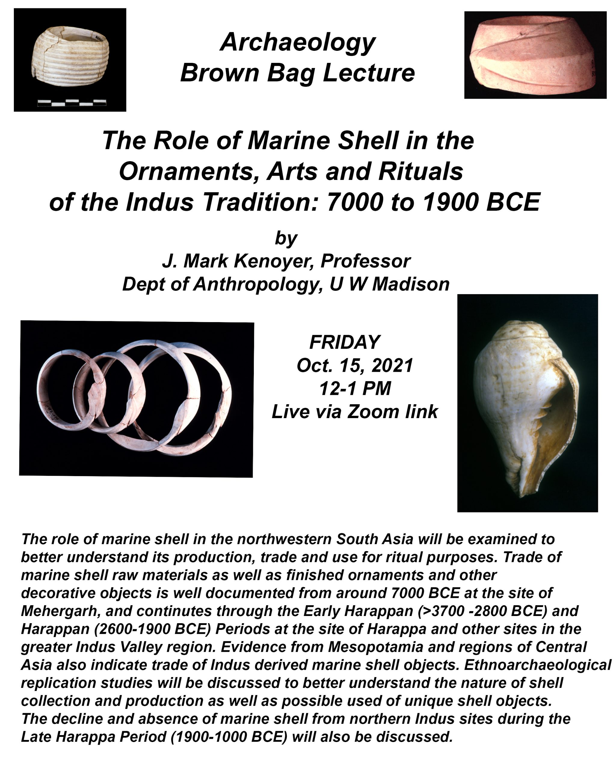 Event Poster: Anthropology Brown Bag